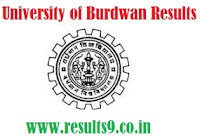University of Burdwan B.Ed Exam Results 2013