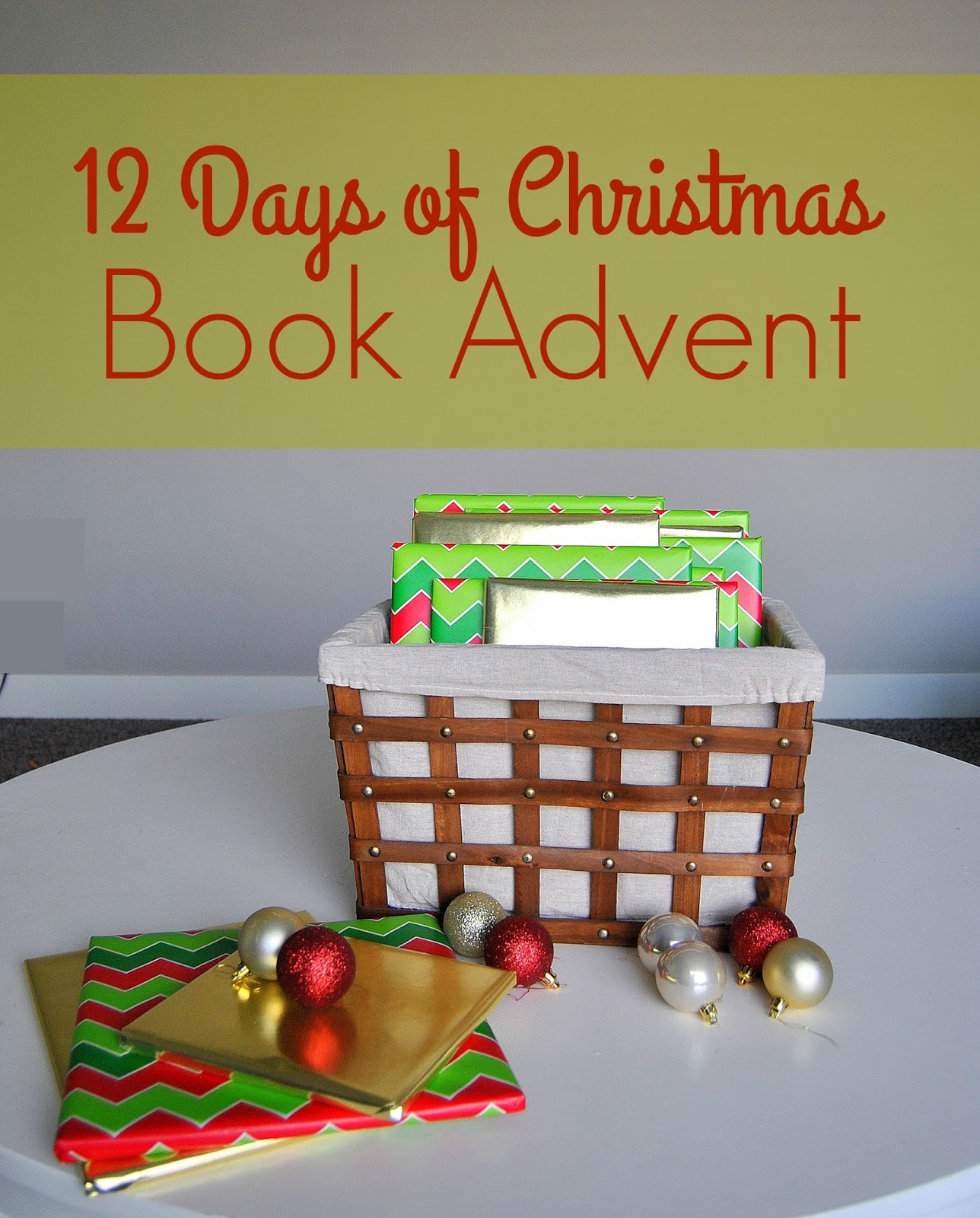 12 days of christmas picture book advent countdown - 12 Days Of Christmas Book