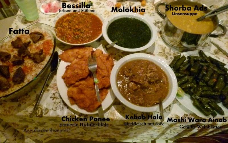 ramadan-frühstück für gäste (menüvorschlag 1) | Ägyptische rezepte, Einladung
