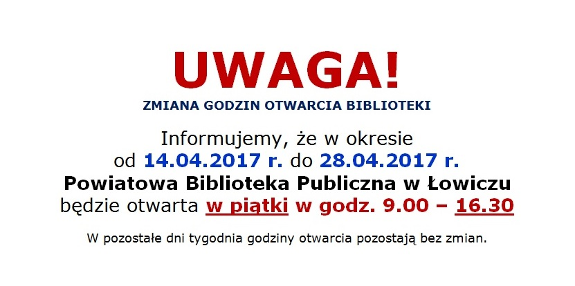 Powiatowa Biblioteka Publiczna w Łowiczu