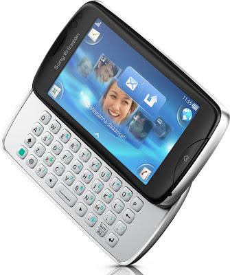 Sony Ericsson txt pro slider qwert phone