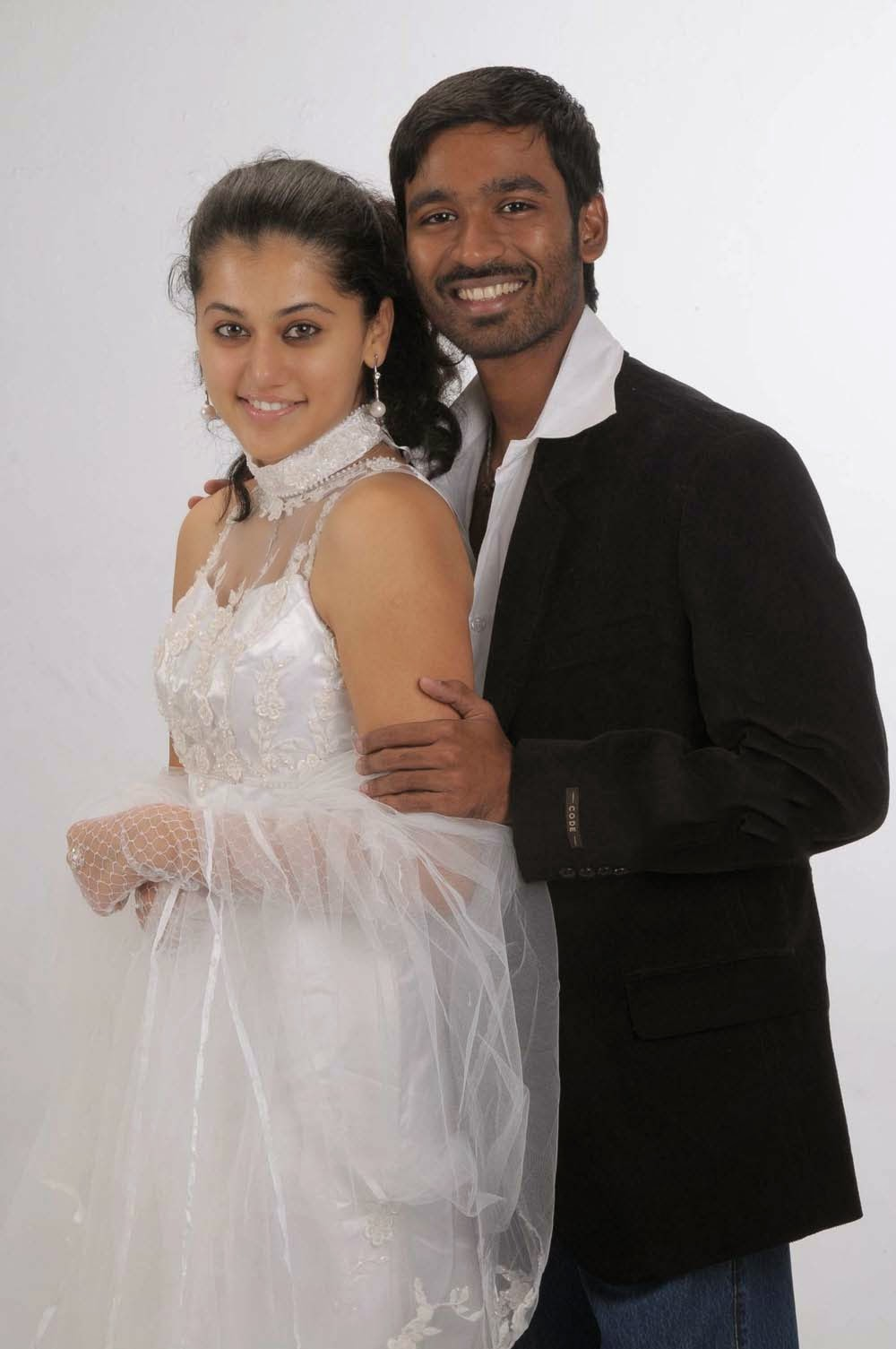 actress celebrities photos: dhanush, taapsee pannu pics from