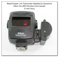 CP1115: RadioPopper JrX Attached to SU-800 (Front View)