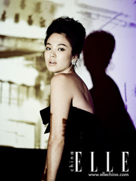 Song Hye Kyo China ELLE December 2008