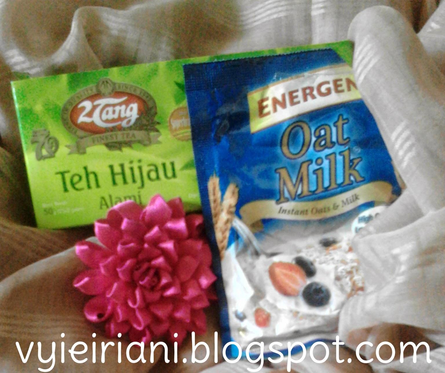 masker greentea+oatmilk | Vyie