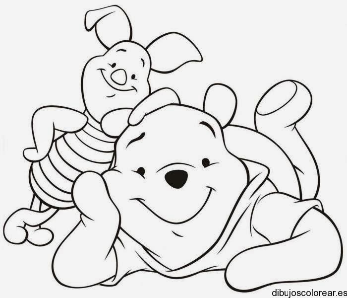 Dibujos para colorear. Maestra de Infantil y Primaria.: Winnie the ...