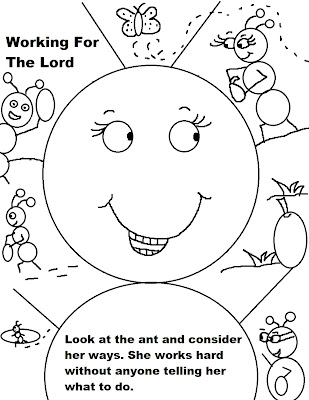 Labor Day Sunday School Coloring Pages