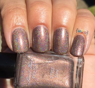 Addicted To Holos Indie Box, Sweet Heart Polish Sugar & Spice