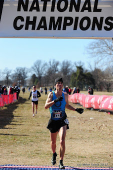 Rusty, 2nd USATF Master's X/C Champs