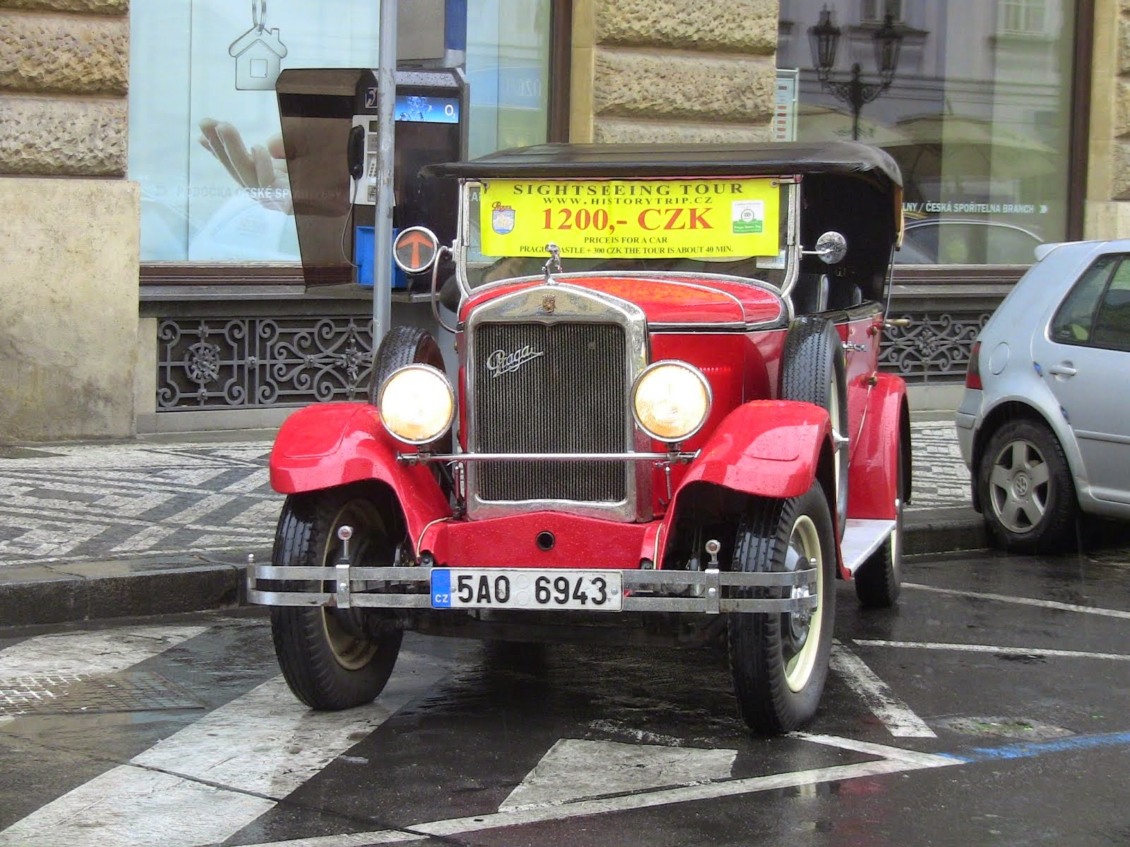 les nouvelles calèches de Prague!