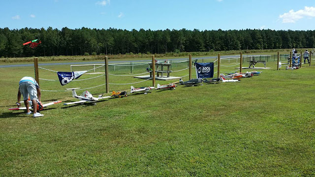 RC plane line up - Remote Control Aircraft Event - RC adhesives - BSI adhesives