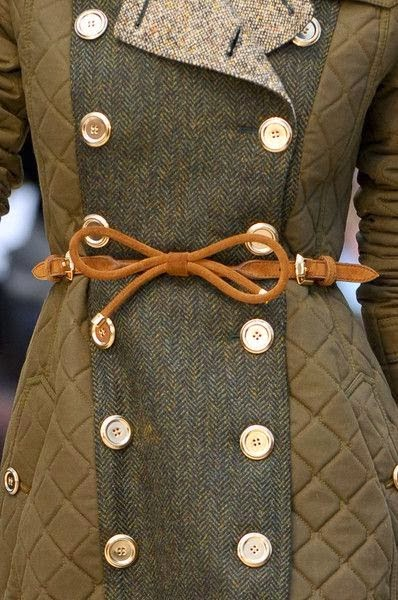 Gorgeous Buttons Coat for Ladies