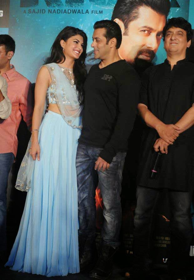 Jacqueline Fernandez at 'Kick' Movie Trailer Launch