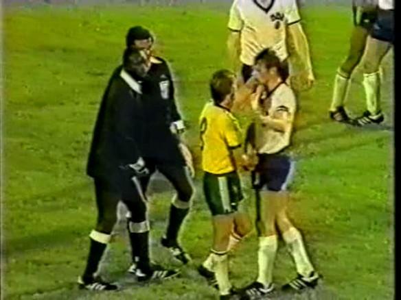 Ddr Fu 223 Ball Tv Wm 74 Ddr 2 0 Australia 14th Jun 1974