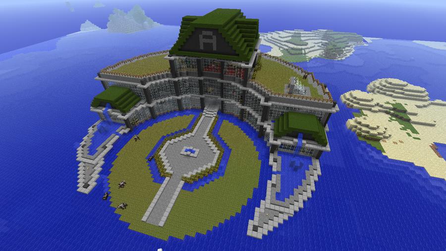Minecraft is my mine construction minecraft h tel aquatique - Maison minecraft design ...