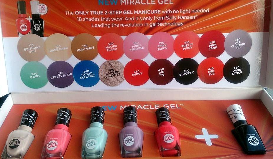 CherrySue, Doin\' the Do: Sally Hansen Miracle Gel - High Shine ...