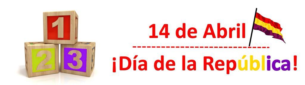 #14deAbril Día de la República
