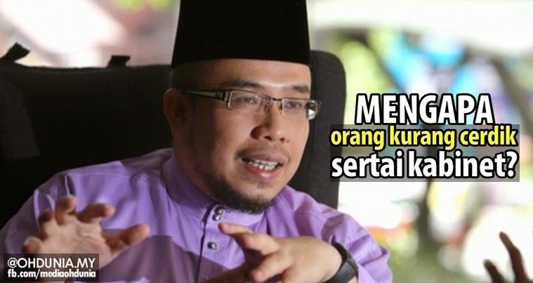 Mufti Perlis persoal mengapa 'Orang Kurang Cerdik' sertai Kabinet?
