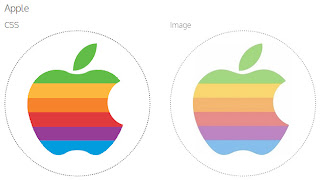 Logo Apple em CSS3
