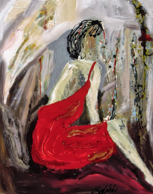 That woman in red dress(Esa mujer con vestido rojo)