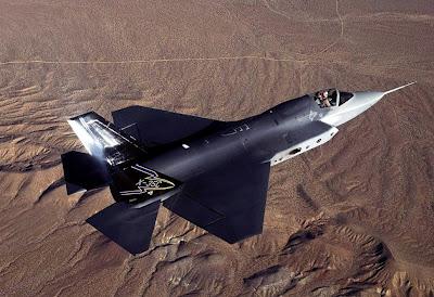 Avião de guerra X-35 JSF