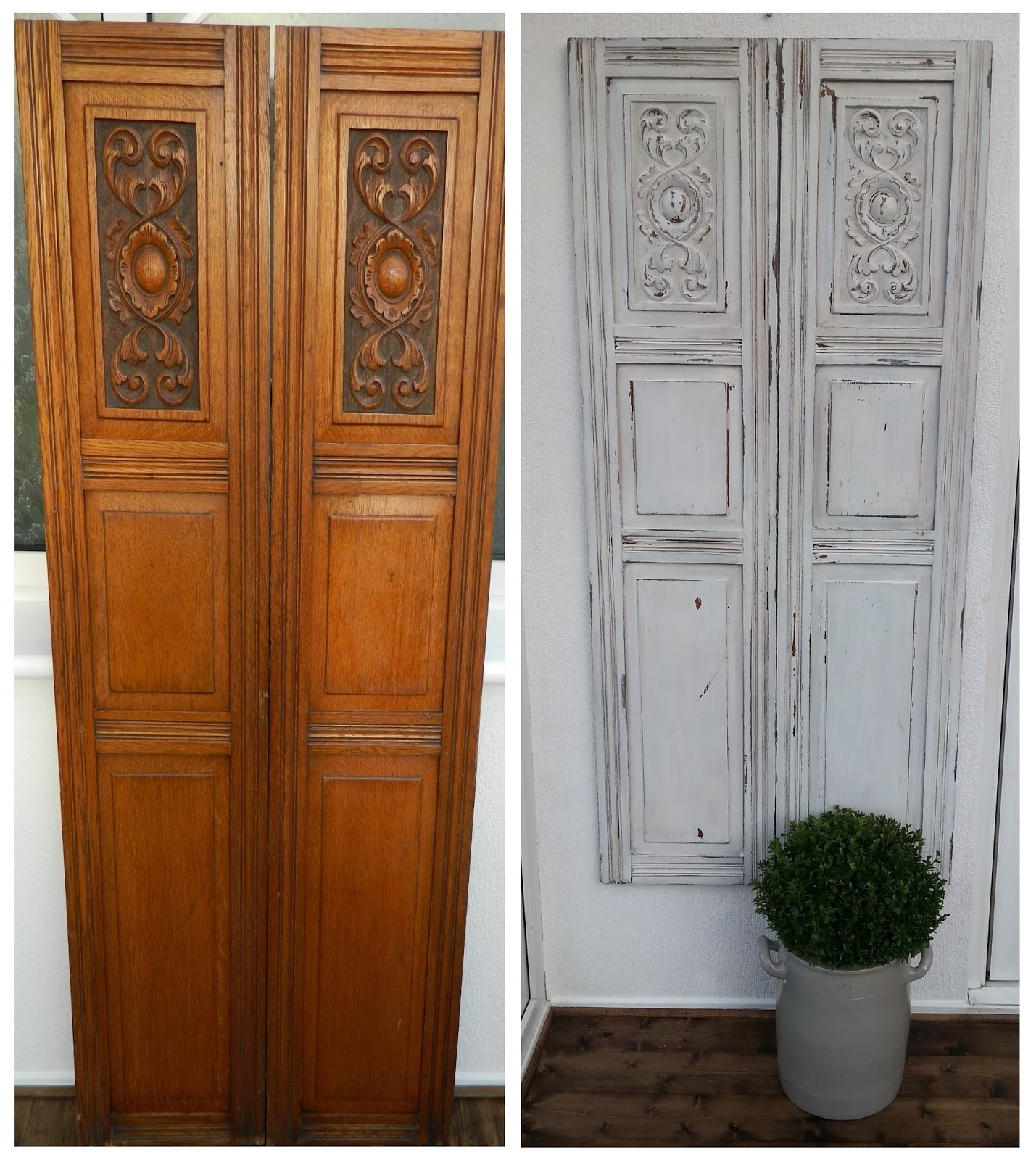 How To Paint Old Chippy Doors