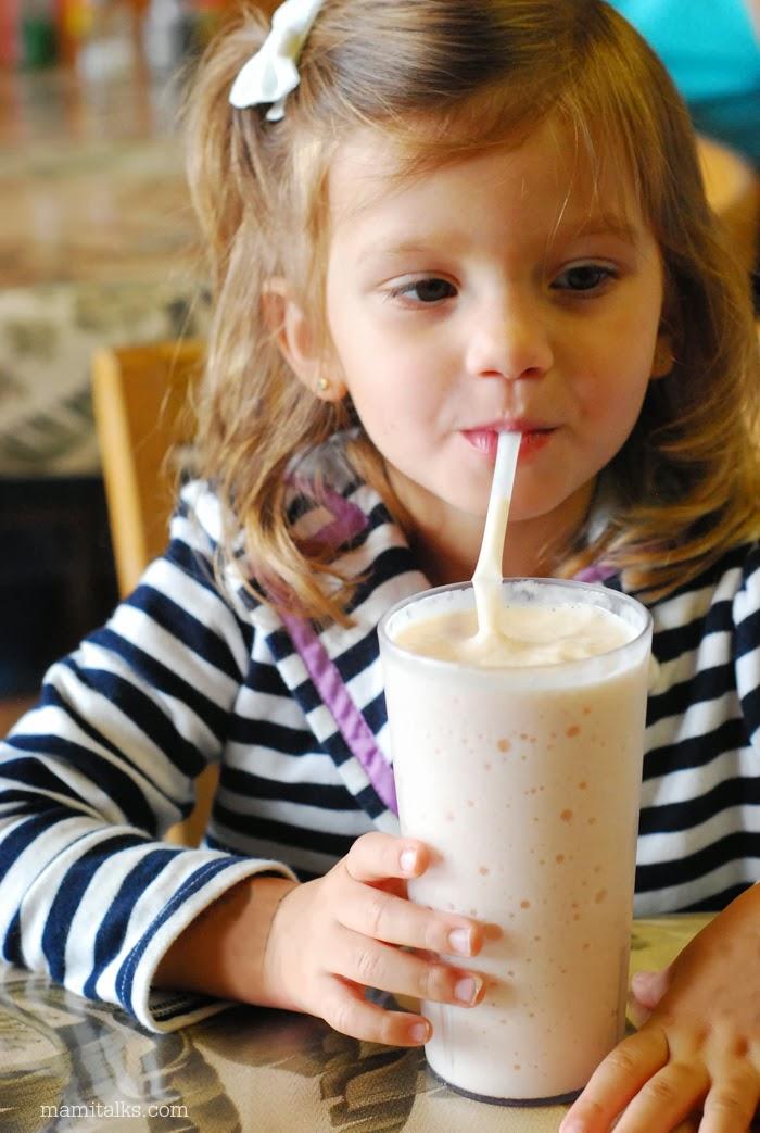 Batido de papaya con leche  | MamiTalks.com