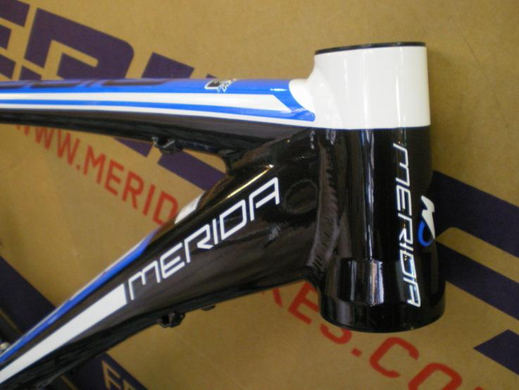 Blog bicicletas Bikemania: cuadro Merida Ninety-Nine doble 2012