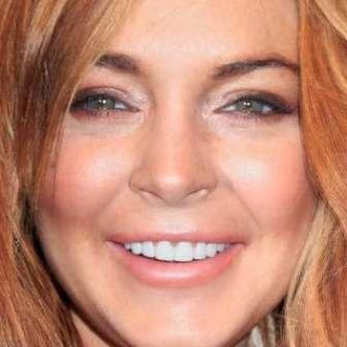 Lindsay Lohan new teeth