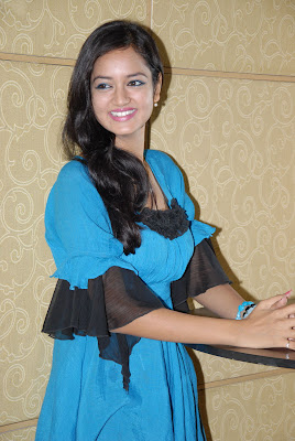 shanvi at lovely movie success meet unseen pics