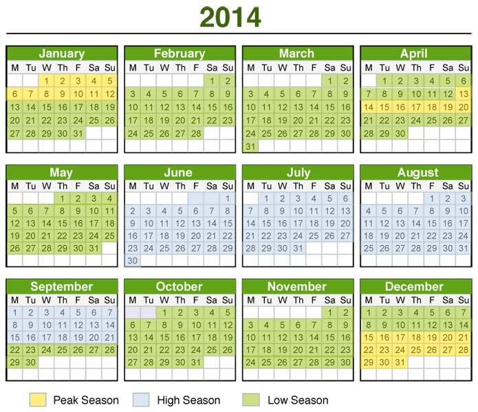Kalender Indonesia Tahun 2014