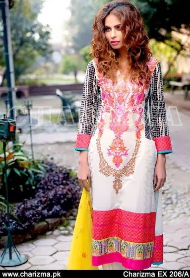 Charizma Lawn Dresses 2014