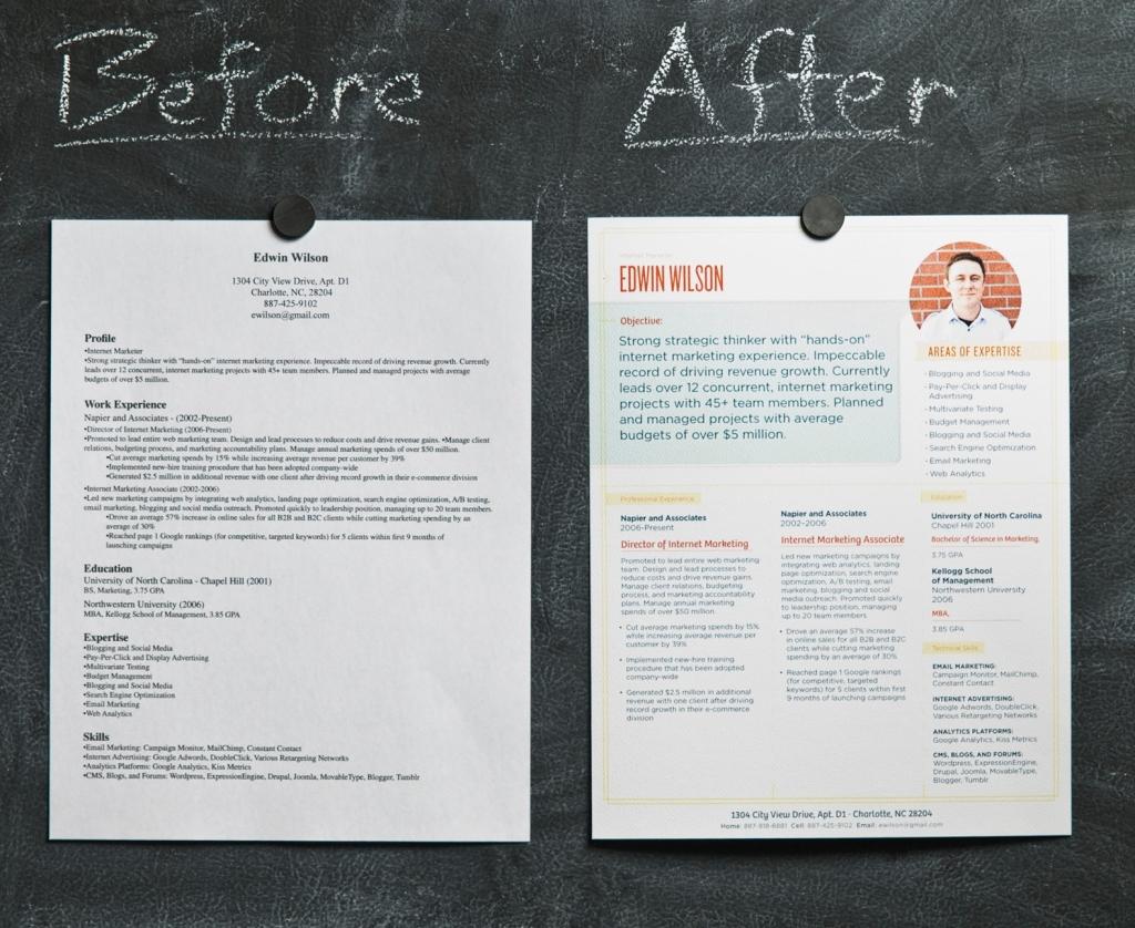 PrinsipDasar: Contoh Membuat CV yang Baik dan Modern