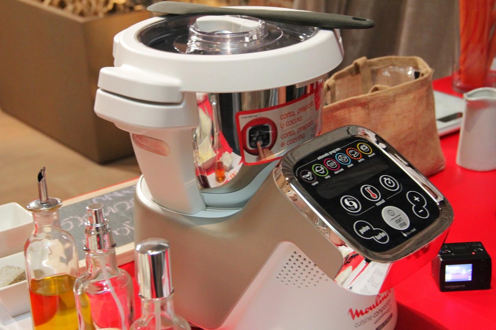 Lazy blog receta de risotto cl sico con jordi cruz en el robot cuisine companion de moulinex - Cocinar con robot ...
