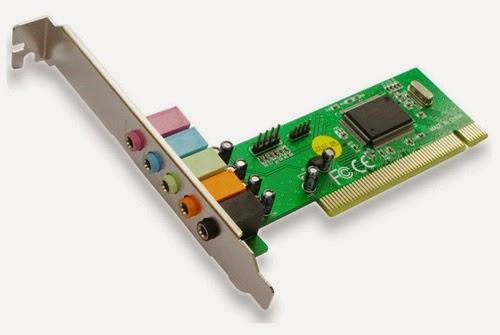 pengertian dan fungsi sound card