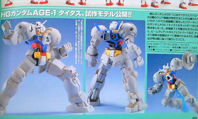 HG 1/144 Gundam AGE-1T Titus