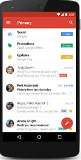 Fazer login do GMAIL pelo aplicativo no celular