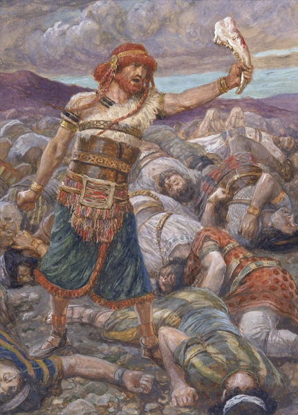 Judges 15 : 1-20 (Samson Killed a Thousand Men