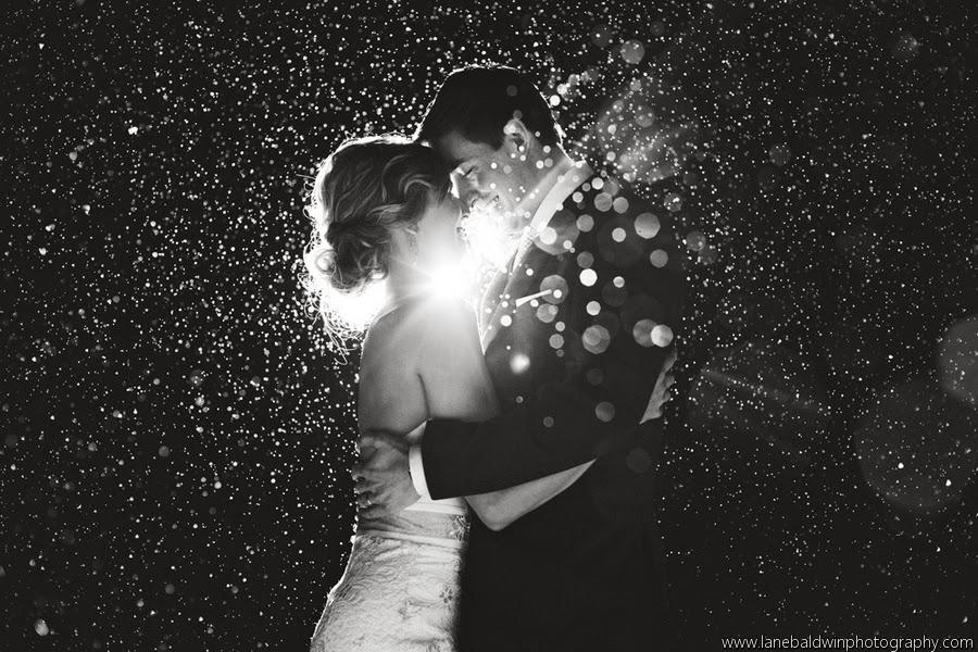 Cleveland Wedding Planner sparkly rustic woodland winter wedding