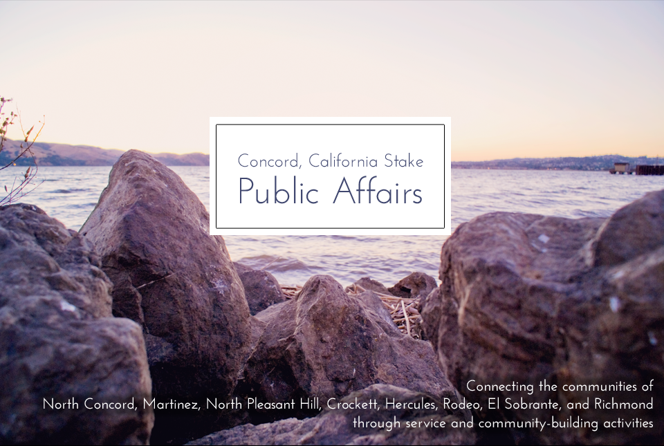 Concord California Stake Public Affairs