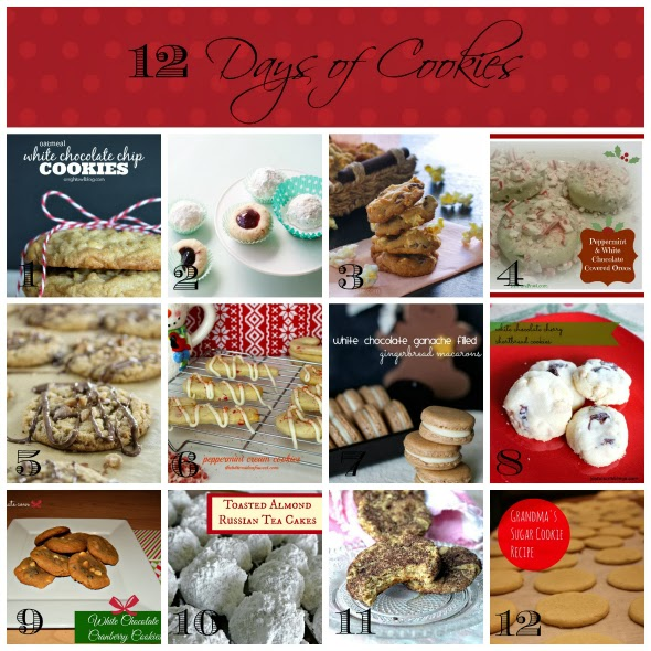 12 Cookie Recipes from some of the best bloggers around!