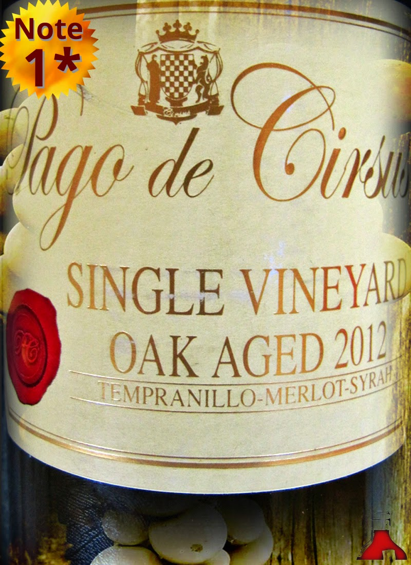 Pago de Cirsus Single Vineyard Oak Aged Navarra 2012