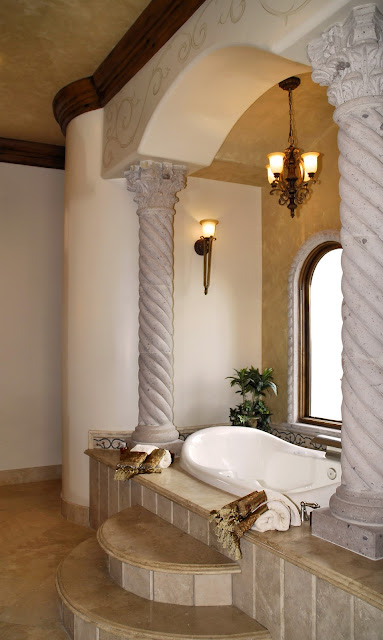 Luxury bathroom design ideas wonderful for Luxury bathroom ideas uk