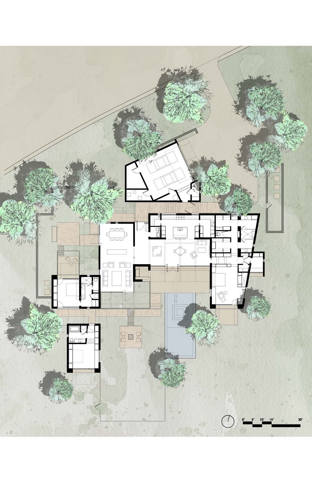 Archidia the brown house for Belmonte builders floor plans