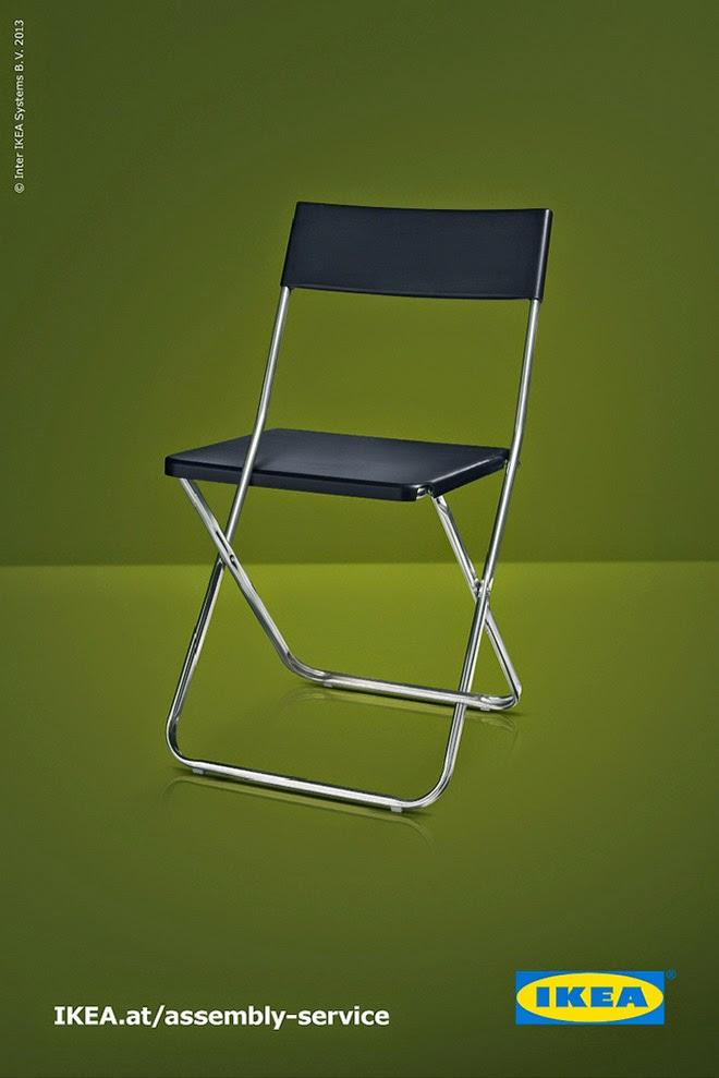 Muebles de IKEA imposibles, silla