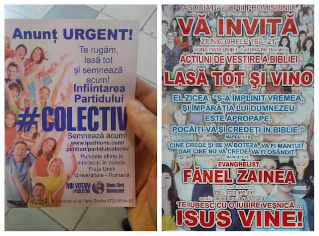 Fanel Zainea fanatic religios - partidul Colectiv