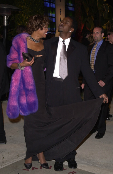 Whitney Houston, Her Husband, Bobby Brown,Pictures