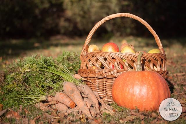 owoce i warzywa jesień przetwory
