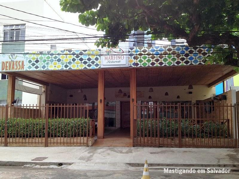 Marfino Restaurante: Fachada