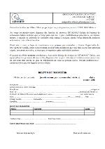 Boletín de Subcripcion